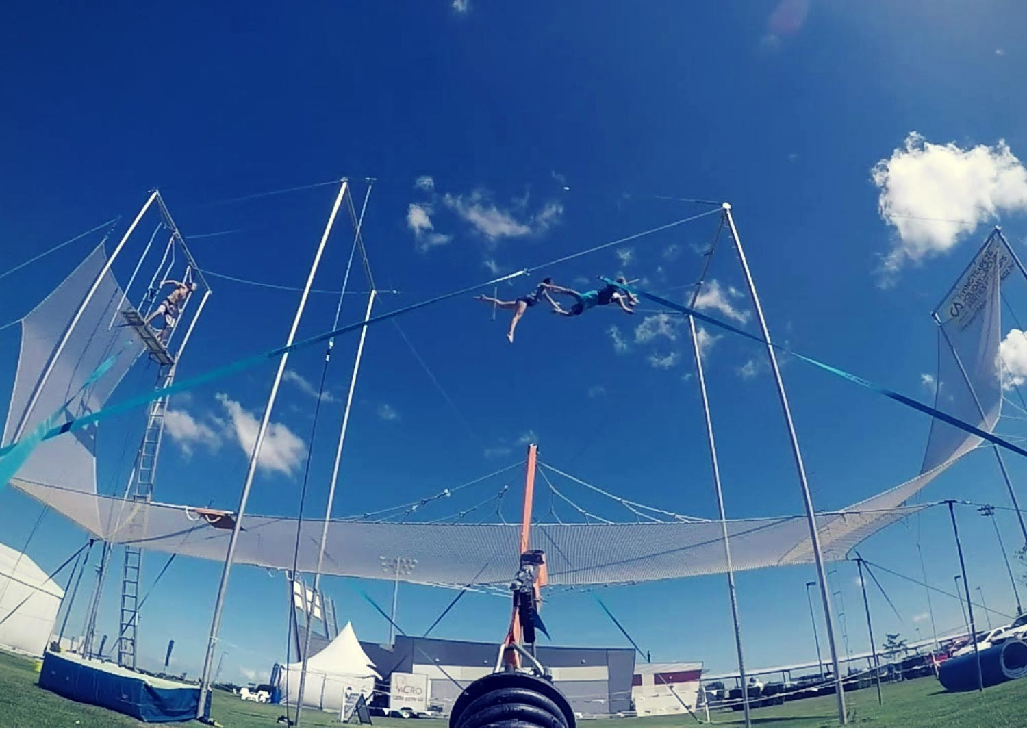 Circus Arts Australia - Brisbane Outdoor Flying Trapeze