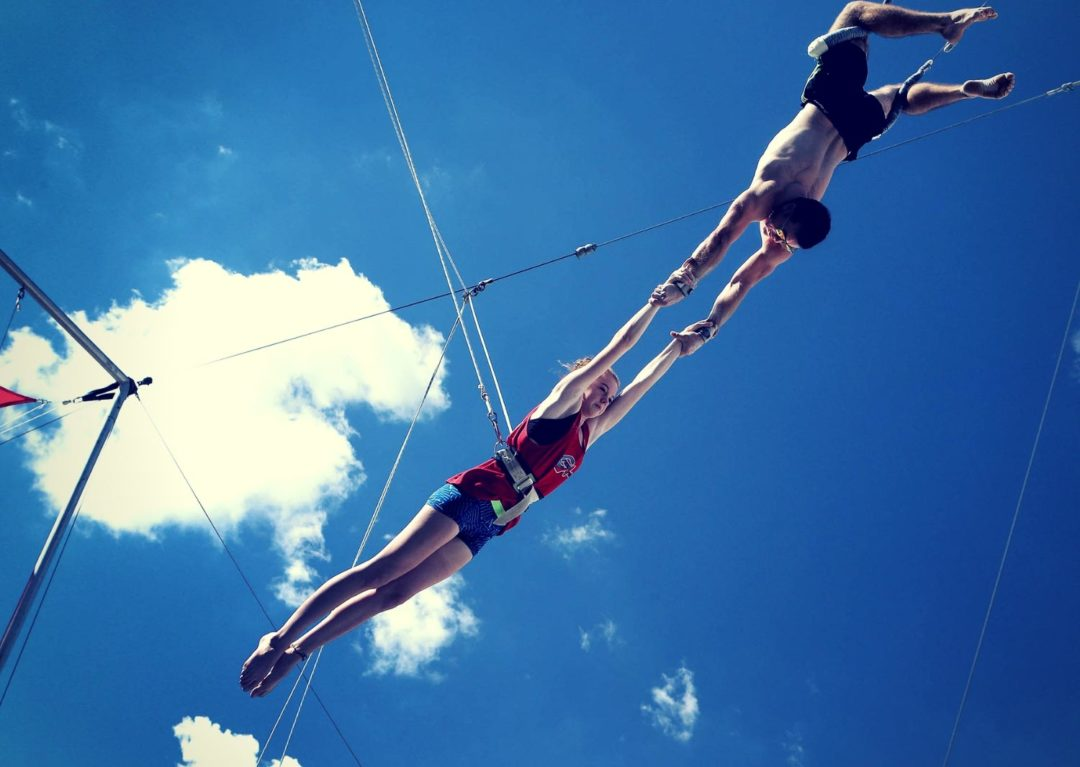 Outdoor Flying Trapeze Brisbane